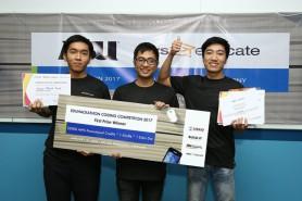 The prize winner in ASU/AWS