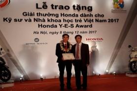 Lễ trao tặng Giải thưởng Honda YES