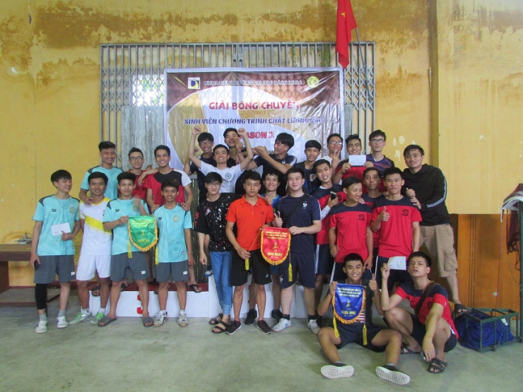 VOLLEYBALL CHAMPIONSHIP OF STUDENTS IN HIGH QUALITY PROGRAM OF FEE- THE 2nd SEASON, 2018-2019