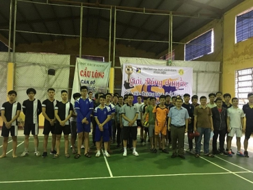 Volleyball tournament  for students in high quality program of Faculty of Electrical Engineering 2018