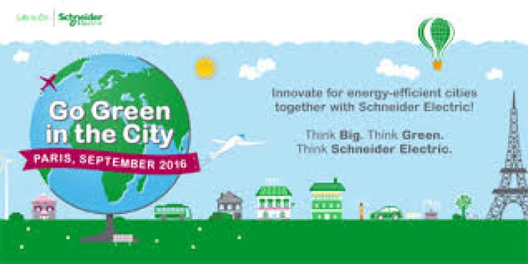 Go Green in the City - Schneider Electric